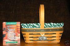 Longaberger Sweet Treats Basket Combo Signed (3) Mint
