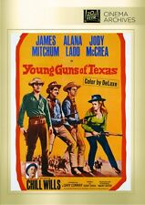 YOUNG GUNS OF TEXAS DVD (1962) James Mitchum, ALANA LADD JODY McCREA CHILL WILLS