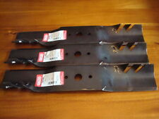 "Replace 48""CUB CADET G5 GATOR  Mulching Blades Round Hole Z-Force104772 742-3025"