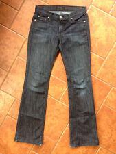 Women JAMES JEANS Black Icon Boot Cut Low Rise Jeans Sz 28