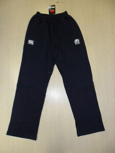 0816 Size S CANTERBURY Scotland Rugby Trousers Pants Tracksuit Pants