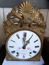ancien mecanisme d horloge contoise echappement a verge a reviser