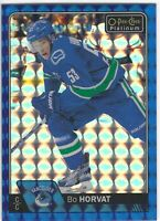 2016-17 O-Pee-Chee Platinum Royal Blue Cubes #59 Bo Horvat /99