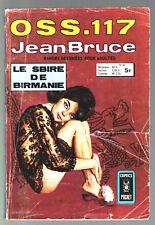 OSS 117 n°60 # JEAN BRUCE # LE SBIRE DE BIRMANIE # 1979 COMICS POCKET