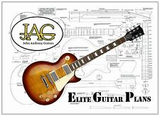 Luthiers Project Plan/Drawing for Gibson Les Paul guitar P038