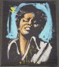 David Garibaldi Original James Brown Latex on Canvas 6'X5' Signed by Eddie Money