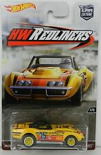 Hot Wheels *HW REDLINERS* '69 Corvette Racer  REAL RIDERS NIP!