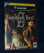 Resident Evil 0  - Nintendo GameCube - 2-Disc Complete w/ Manual, Case, Insert