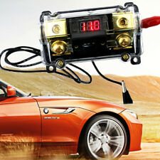 100A 2-Way Car Audio Fuse Holder Fuseholder Inline Block Battery Install Kit LED