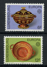 Luxembourg 1976 SG#968-9 Europa Pottery MNH set Cat £10.75 #A72321