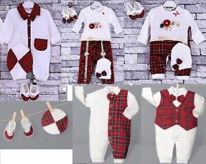 100% Cotton Baby Girls Boys Babygrow Bodysuit Sleepsuit Romper Spanish Outfit