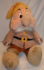 """Walt Disney Sneeze Dwarf Plush Stuffed Animal 28"""" Snow White and the 7 Dwarfs"""