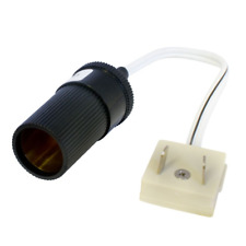 ADAPT IT - A 12V Cigar Socket To W4 10A 2 Pin Plug Caravan / Boat Electrics Lead