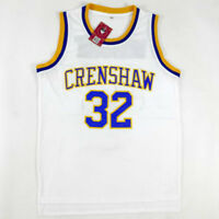 Love and Basketball Monica Wright 32 Crenshaw White Basketball Jersey Throwback