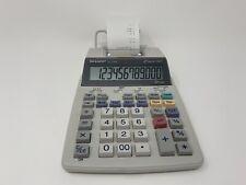 Sharp El-1750V Printing Calculator - 12 Digit - 2 Color
