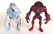 Ben 10 figurines X 2-ampfibian et waterhazard