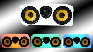 "Rockville RPB40 40 Watt Dual 3"" Portable Bluetooth Speaker w/Cool Illumination"