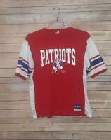 NFL Mitchell & Ness New England Patriots Mens XL Throwback Jersey T Shirt