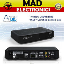 Altech UEC DSD4921RV Digital TV VAST Twin Tuner Satellite Receiver Decoder 12V