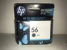 HP 56 (C6656AN#140) Black Ink Cartridge HP New In Box FREE SHIPPING