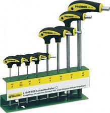 Proxxon 22650 L T Griff Innensechskant Schraubendreher Hex + Halter 8tlg NEU OVP