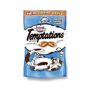 Temptations Cat Treats, Savory Salmon, 3-oz.