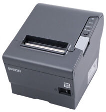 Epson TM-U220B Dot Matrix Receipt Printer M188B w power supply Parallel Auto Cu