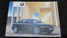 BMW 3-Series E46 Coupe Original Owner Manual Handbook 01410156515 En