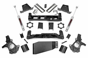 "Rough Country 6"" Lift Kit (fits) 07-13 Silverado Sierra 1500 4WD | N3 Shocks"