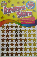 Star Shape Holograhfi Stickers 12mm Self Adhesive Peel & Stick Gold/Silver/Bronz
