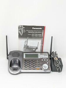 panasonic KX-TG5100M Base & Answer Machine Only WIth Manual- Works  KX-TGA510M