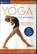 Yoga Journals Yoga for Beginners DVD, 2003 Gaiam with Free Handbook Included