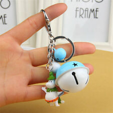 Moomin Valley Muumi Keychain Keyring with Bell Bag Pendant Kids Accessories Gift