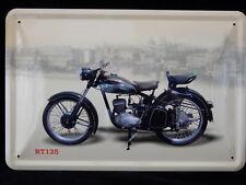 Blechschild RT 125  Motorrad DDR 20 x 30