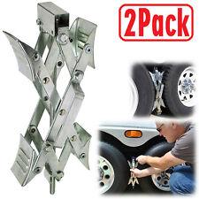 Wheel Stabilizer Trailer Camper RV X-Chock Ratchet Handle Tire Locking Chock New