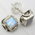 925 Sterling silver SMALL Stud Post Earrings ! Antique Style Affordable Jewelry