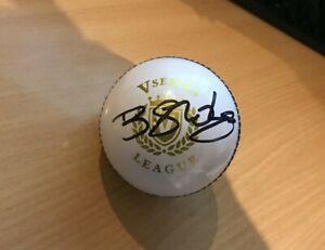 Ben Stokes Signed England ODI Cricket Ball with COA