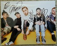 ISSUES SIGNED PHOTO 8X10 AUTOGRAPHED COA  autograph 2016 WARPED TOUR HEADSPACE