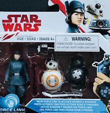 "Star Wars The Last Jedi Rose (First Order Disguise) BB-8 BB-9E 3.75"" Figures MOC"