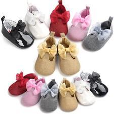 nouveau-né nourrisson petite fille nœud papillon chaussures sneaker