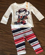 Gymboree Outfit 12-18 Months Holiday Cozy Cocoa Tee and Warm and Fuzzy Leggings