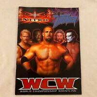 WCW :  AUSTRALIAN TOUR 2000 PROGRAM