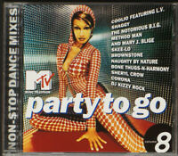 Various - MTV Party To Go Volume 8 (CD, Comp, Mixed) - CD [17] (EX/EX)