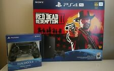 Brand New PlayStation 4 Pro 1TB Console - Red Dead Redemption 2 Bundle