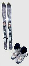 USED ADULT SNOWBLADE PACKAGE, Atomic Ski Blade and bindings 119cm, Solomon boots