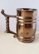 Large Prinknash Abbey Tankard Cup Mug Pewter Lustre Pottery