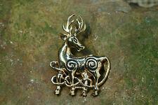 McGuffey broche Cernunnos celtas Hirsch gewandnadel bronce celtas