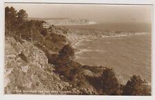 Dorset postcard - Swanage, The Two Bays P/U 1947 (A624)