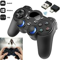 2.4G Wireless Controller Gaming Gamepad Joystick for Android Tablet Phone PC❤HOT