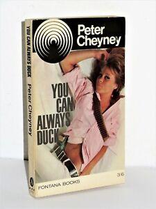 Peter Cheyney - You Can Always Duck - Lemmy Caution - Fontana Books 3/6